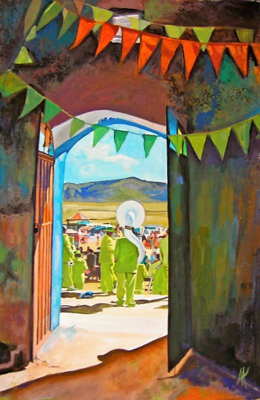 art_77 Los Musicos Verdes