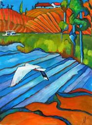 art_96 El Ave Del Lago